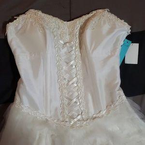 💎CCO SALE💎Corset & Tulle Dress